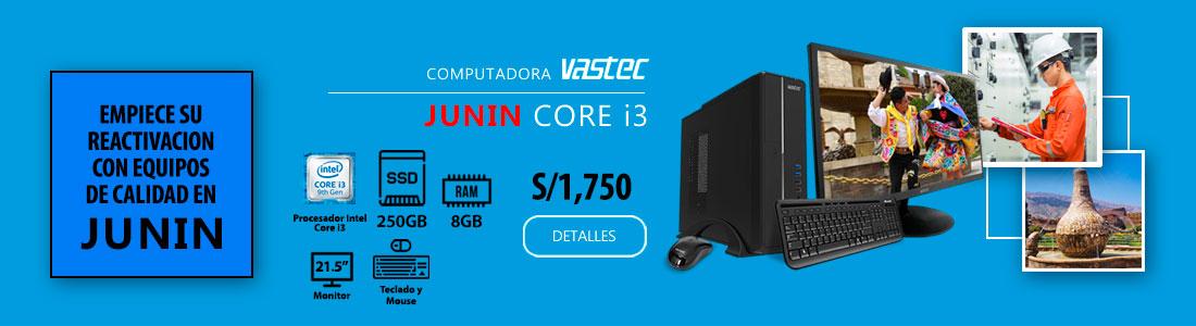 Computadora vastec Junin Core i3