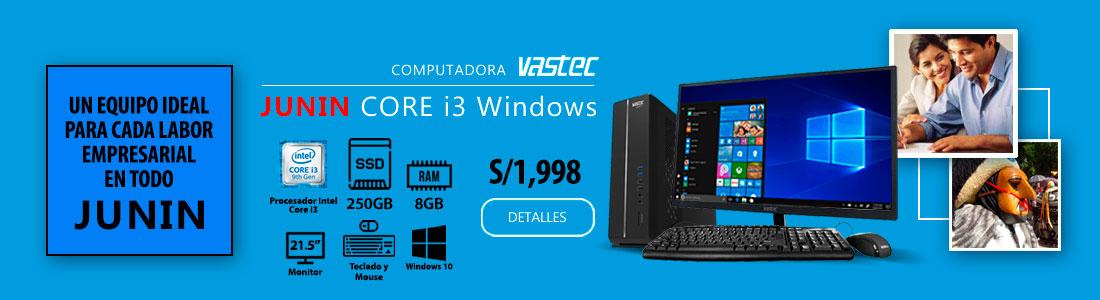 Computadora Vastec Junin Core i3 Windows