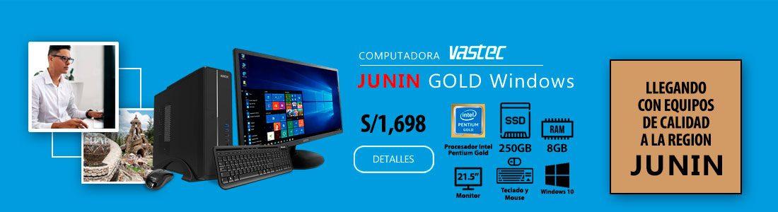Computadora Vastec Junin Gold Windows
