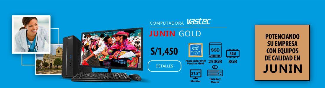 Computadora Vastec Junin Gold